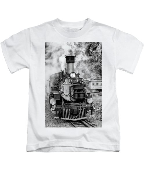 Durango Silverton Train Engine Kids T-Shirt
