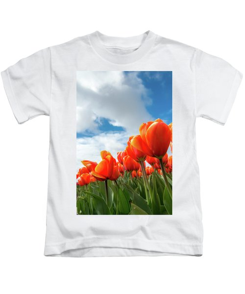 Dutch Tulips Near Keukenhof Kids T-Shirt