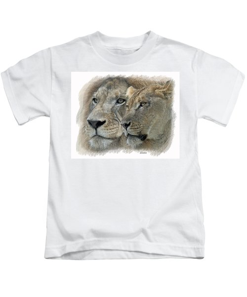 Dynamic Duo  Kids T-Shirt
