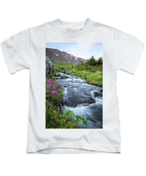 Early Days Of Summer Kids T-Shirt