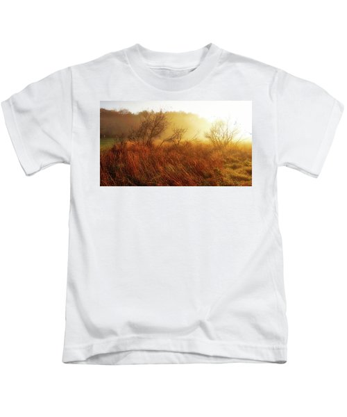 Early Morning Country Kids T-Shirt
