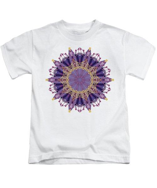 Early Spring Mandala Kids T-Shirt