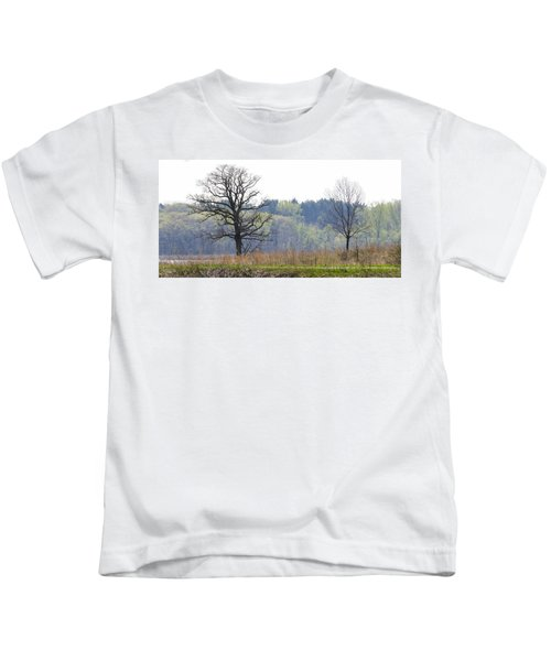 Early Spring Silhouettes  Kids T-Shirt