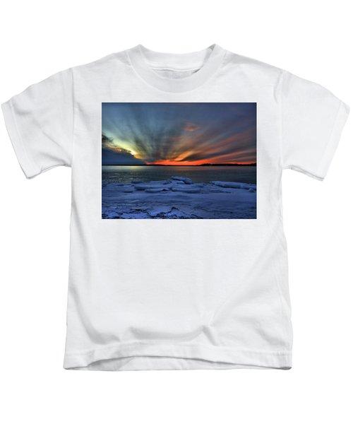 Eastern Lights  Kids T-Shirt