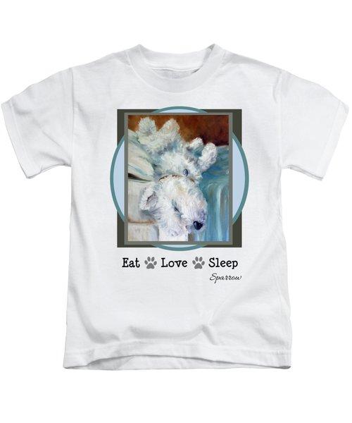 Eat Love Sleep Kids T-Shirt