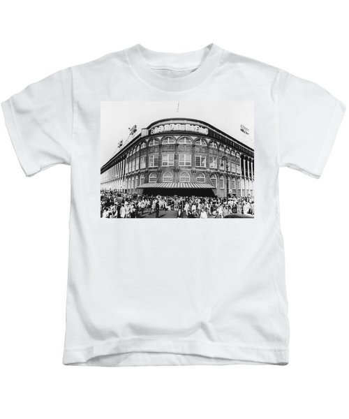 Ebbets Field, Brooklyn, Nyc Kids T-Shirt