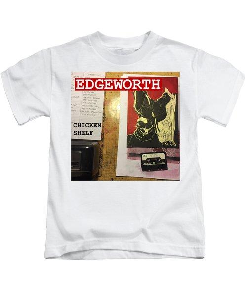 Edgeworth Chicken Shelf Cover Kids T-Shirt