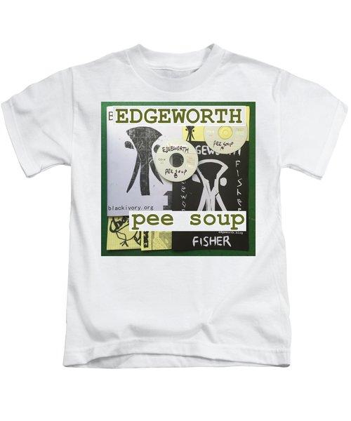 Edgeworth Pee Soup Album Cover Design Kids T-Shirt