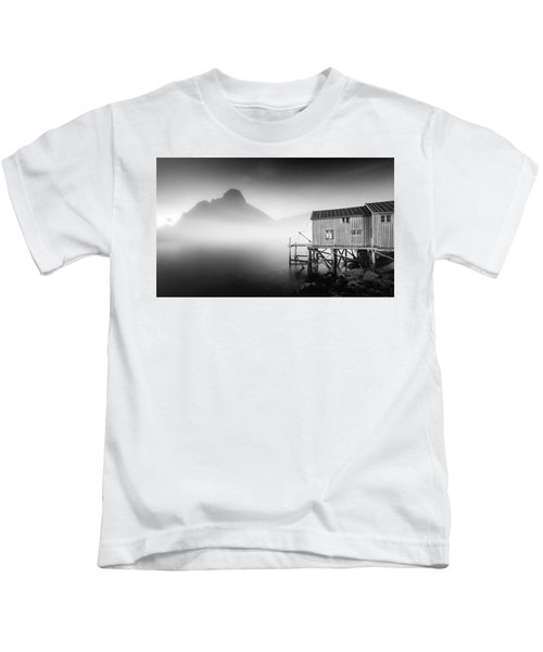 Egulfed By Mist Kids T-Shirt