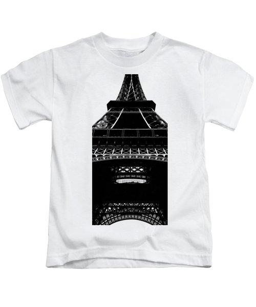 Eiffel Tower Paris Graphic Phone Case Kids T-Shirt