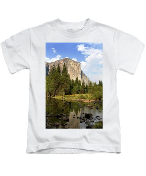 El Capitan Yosemite National Park California Kids T-Shirt