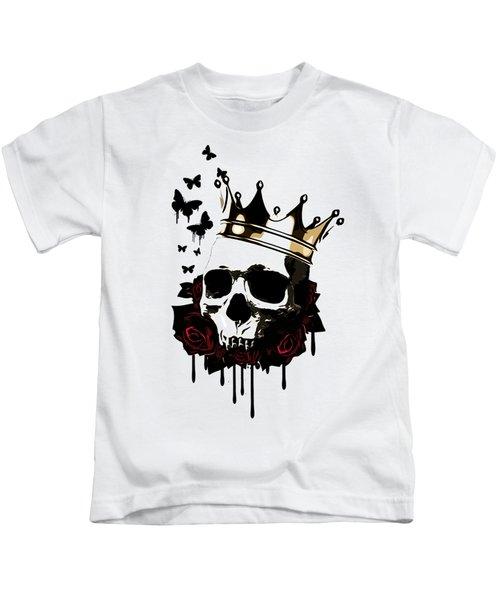 El Rey De La Muerte Kids T-Shirt by Nicklas Gustafsson