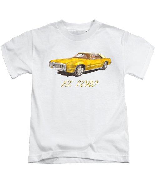 1970 Toronado El Toro Toronado Kids T-Shirt