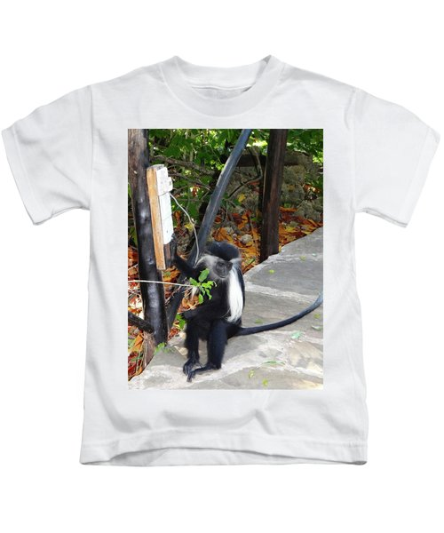 Electrical Work - Monkey Power Kids T-Shirt