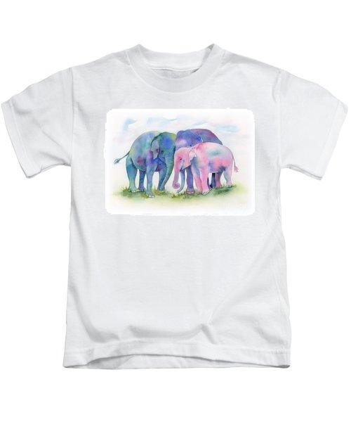 Elephant Hug Kids T-Shirt