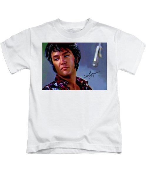 Elvis Presley Art 10 Kids T-Shirt