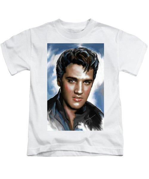 Elvis Presley Art 11 Kids T-Shirt