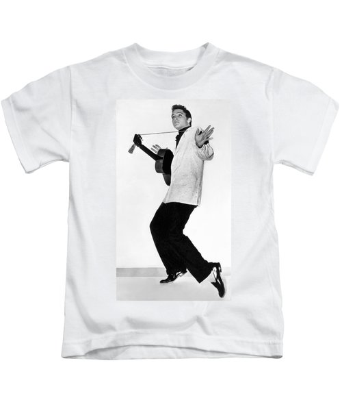 Elvis Presley In 1956 Kids T-Shirt
