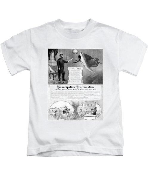 Emancipation Proclamation Kids T-Shirt