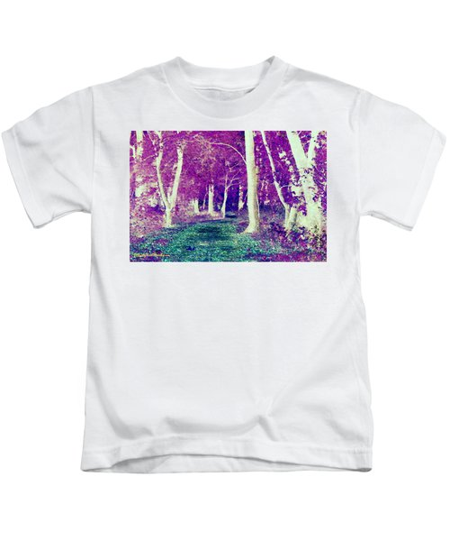 Emerald Path Kids T-Shirt