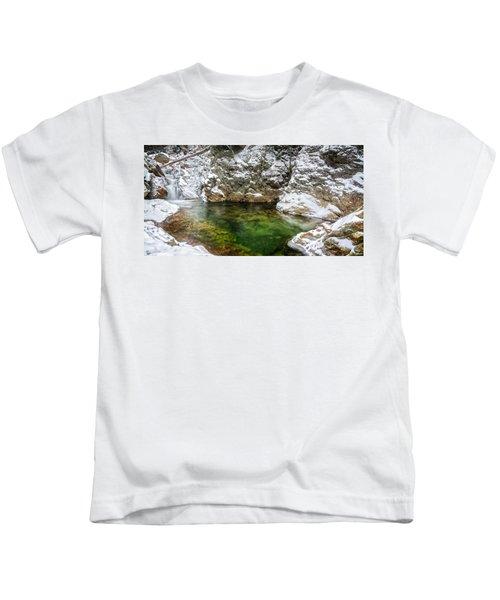 Emerald Pool Ellis River Nh Kids T-Shirt
