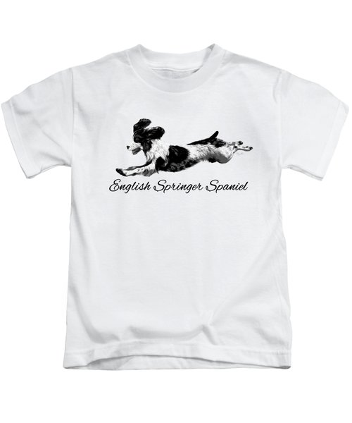 English Springer Spaniel Kids T-Shirt