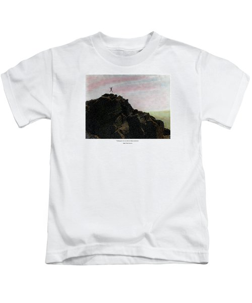 Enthusiasm Poster Kids T-Shirt