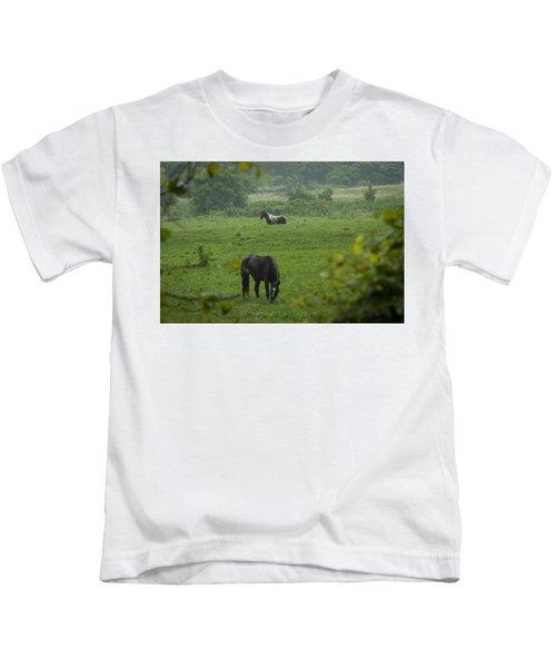 Equine Buddies Kids T-Shirt