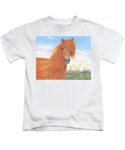 Equine Spa Day Kids T-Shirt