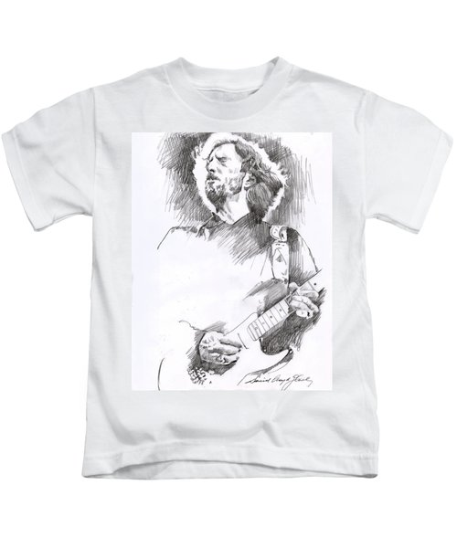 Eric Clapton Sustains Kids T-Shirt
