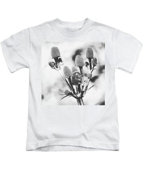 Eryngium #flower #flowers Kids T-Shirt