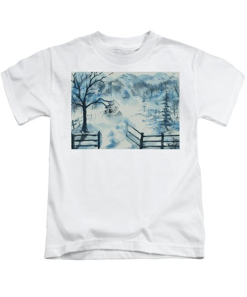 Ethereal Morning  Kids T-Shirt