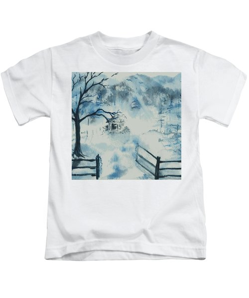 Ethereal Morning  Kids T-Shirt