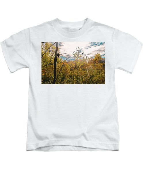 Evanescent Dreams Of Autumn Kids T-Shirt