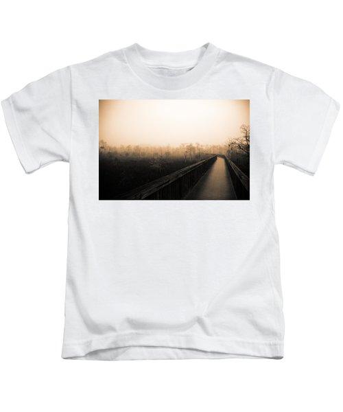 Everglades Boardwalk Kids T-Shirt