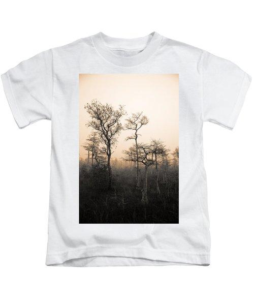 Everglades Cypress Stand Kids T-Shirt