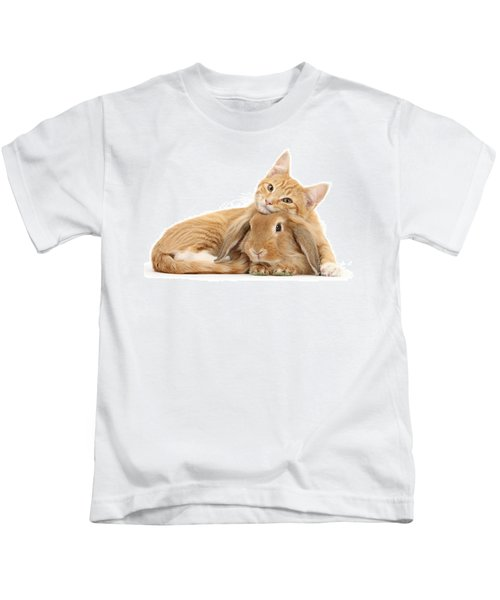 Everybody Needs A Bunny For A Pillow Kids T-Shirt