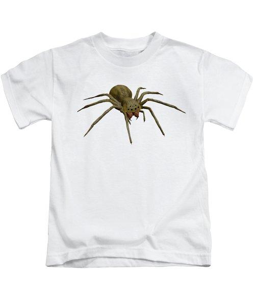 Evil Spider Kids T-Shirt by Martin Capek