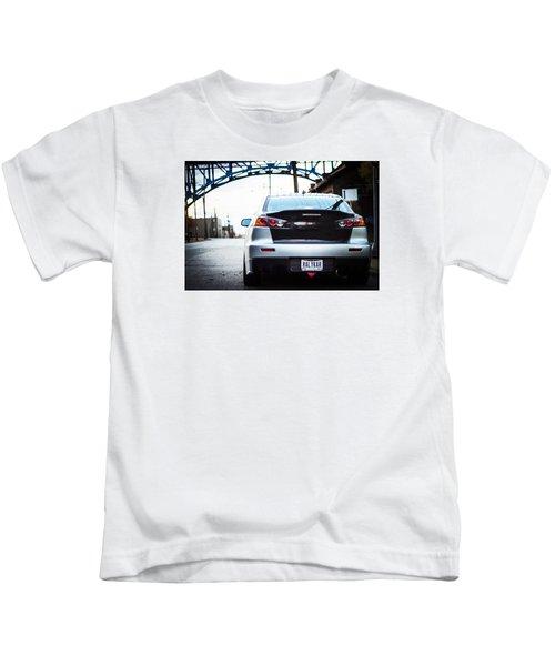 Evo X  Kids T-Shirt