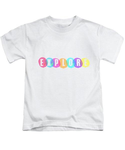 Explore In Color Kids T-Shirt