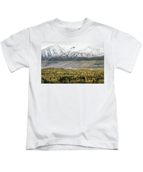 Fall In Wrangell - St. Elias Kids T-Shirt
