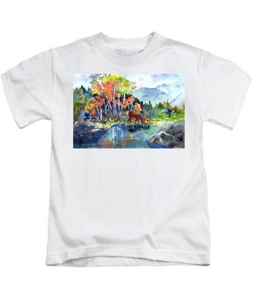 Fall, Upon Us Kids T-Shirt