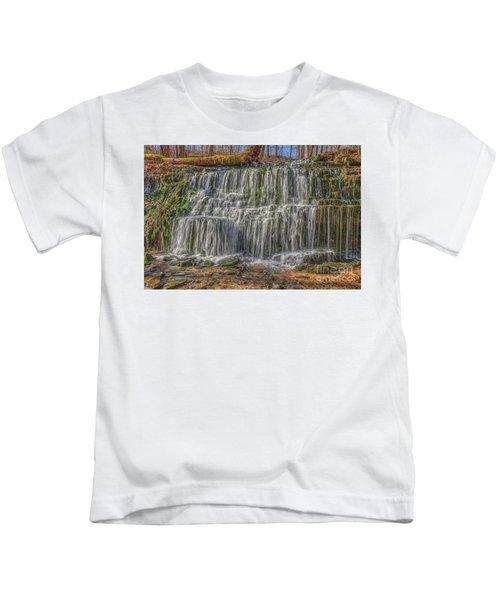 Falling Water Kids T-Shirt