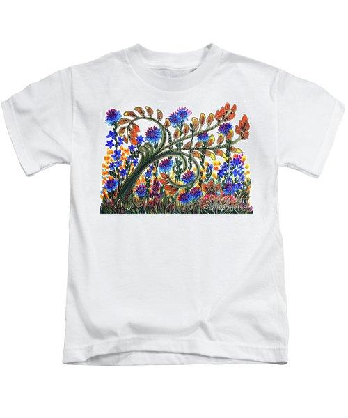 Fantasy Garden Kids T-Shirt