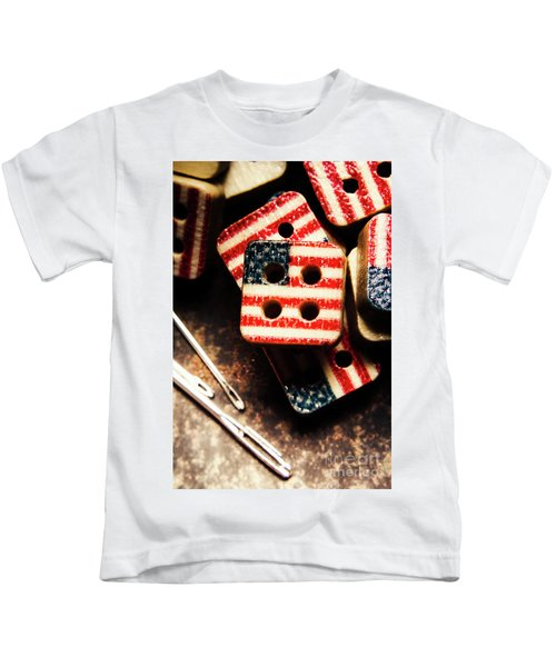 Fashioning A Usa Design Kids T-Shirt