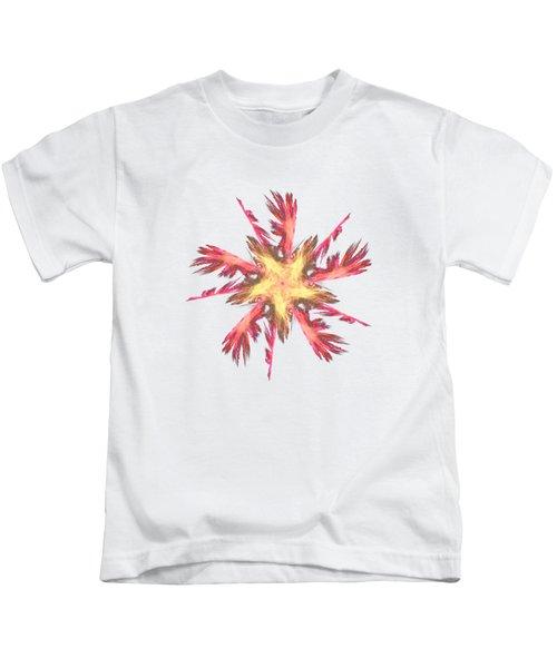 Feather Fractal Kids T-Shirt