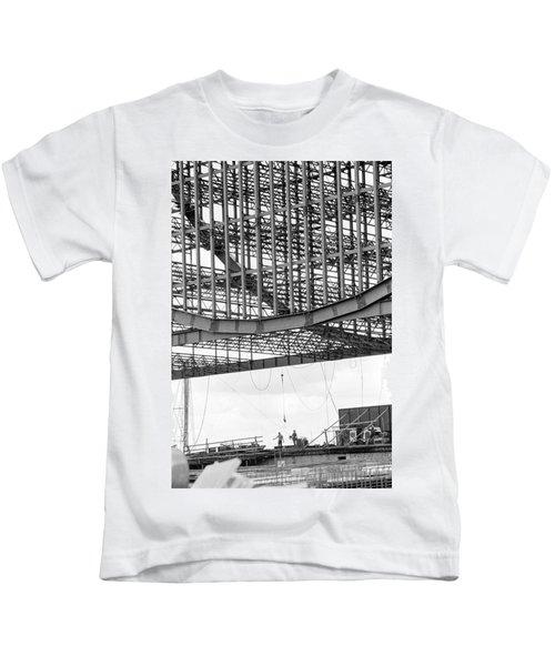 Federal Reserve Construction Kids T-Shirt