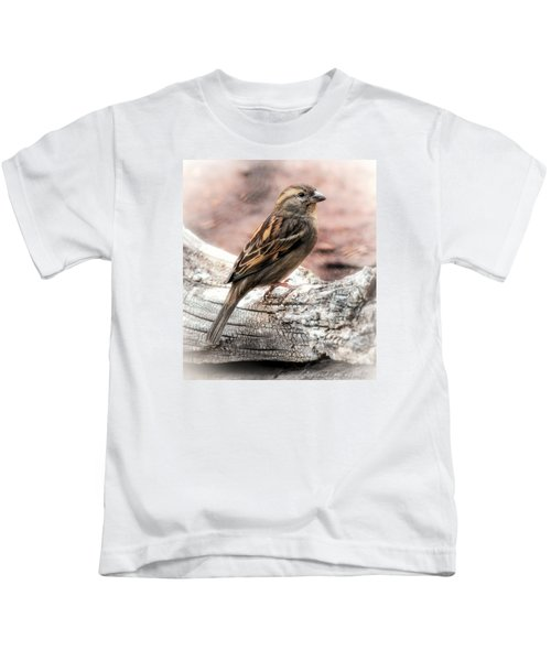 Female Sparrow Kids T-Shirt