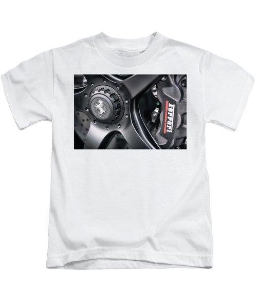 #ferrari #print Kids T-Shirt