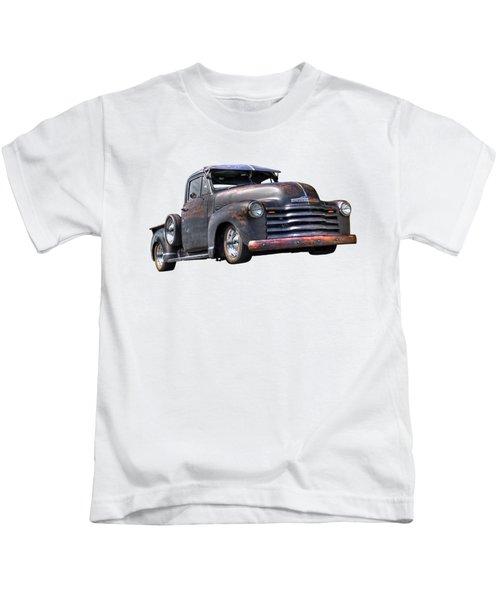 Fifties Rust - 1951 Chevy Kids T-Shirt